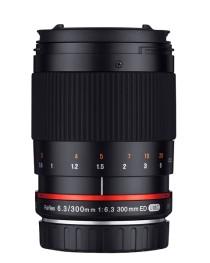 Samyang 300mm F6.3 UMC CS Canon M Zwart