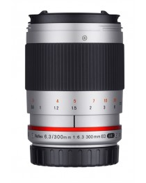 Samyang 300mm F6.3 UMC CS Sony E-Mount Zilver
