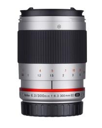 Samyang 300mm F6.3 UMC CS Canon M Zilver