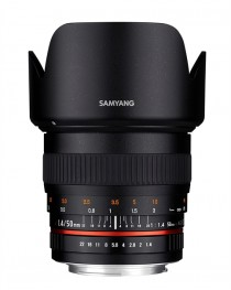 Samyang 50mm F1.4 AS UMC Sony