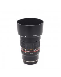 Samyang 85mm f/1.4 AS IF UMC occasion voor Fujifilm