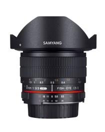 Samyang 8mm f/3.5 Fisheye MC Pentax CS-II