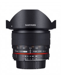 Samyang 8mm f/3.5 Fisheye MC Samsung NX CS-II