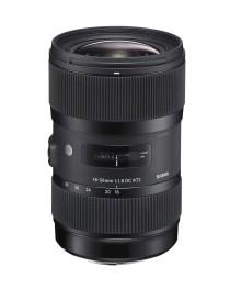 """Sigma 18-35/1.8 DC HSM """"Art"""" voor Nikon"""