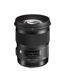 Sigma 50 / 1.4 EX DG HSM Art voor Canon