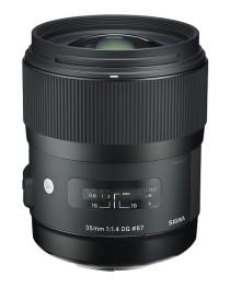 Sigma 35mm/1.4 DG HSM Art voor Canon
