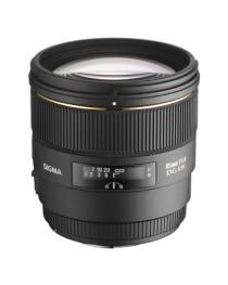 Sigma 85/1.4 EX DG HSM voor Nikon