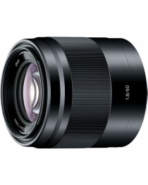 Sony E 50mm F1.8 zwart