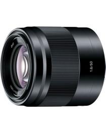 Sony E 50mm F1.8 zwart