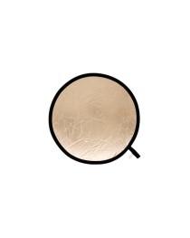 Lastolite Reflector 50cm Sunfire/Wit