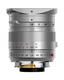 TTartisans M 35mm F1.4 ASPH Leica M Zilver