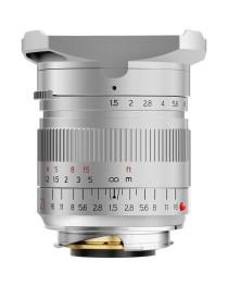 TTartisans M 21mm F1.5 ASPH Leica M Zilver