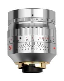 TTartisans M 50mm F0.95 ASPH Leica M Zilver