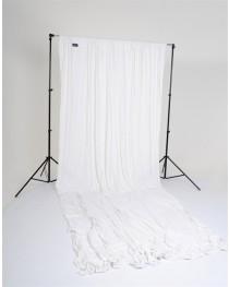 Lastolite Achtergrond Gordijn Ezycare Wit 3x3,5 Meter